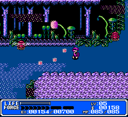 Crystalis NES game