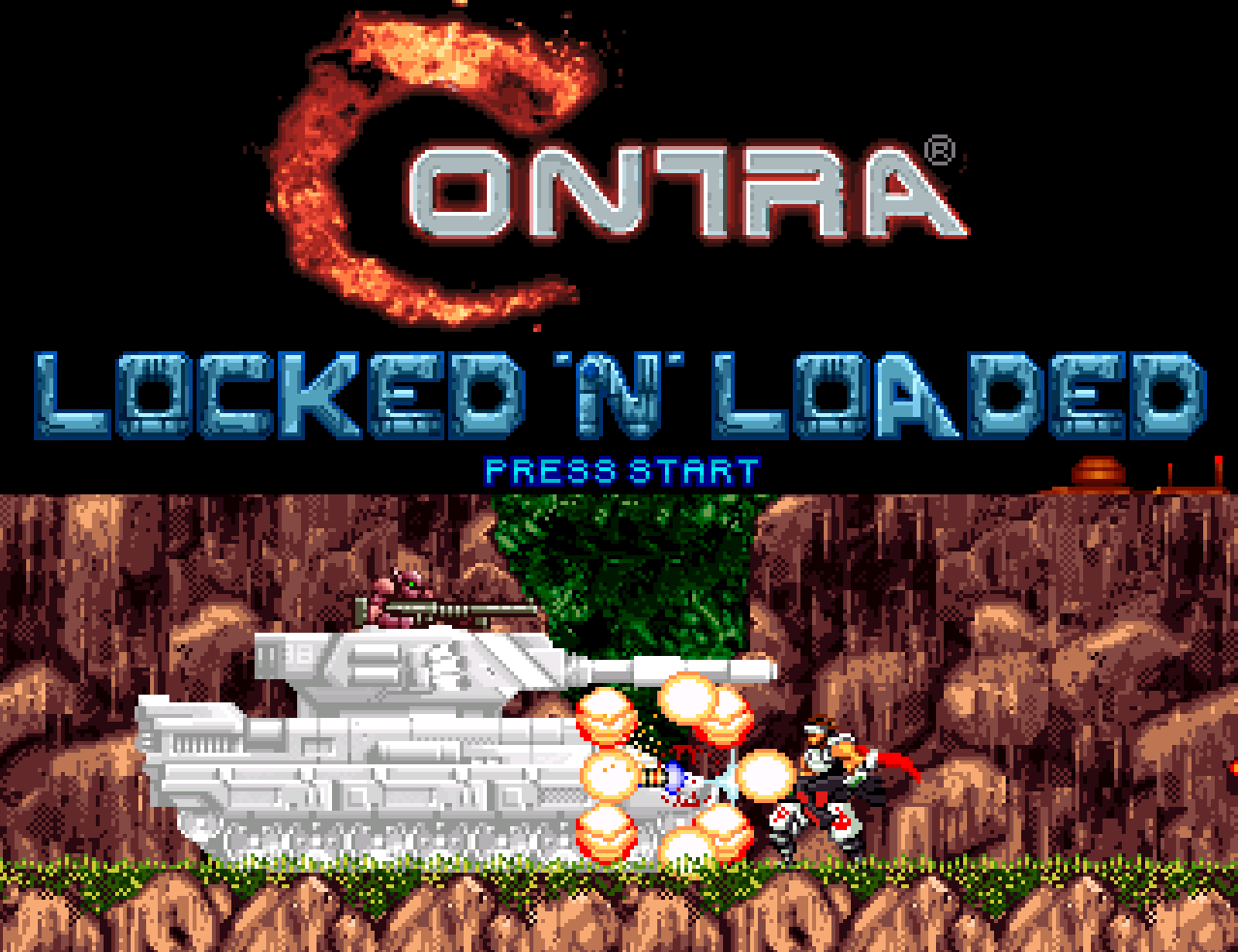 Contra Locked 'N' Loaded