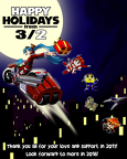happy holidays 2017 from 3 2  by threetwo